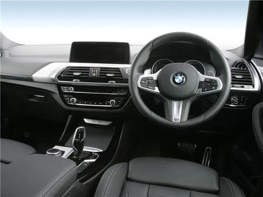 BMW X3 Interior Image